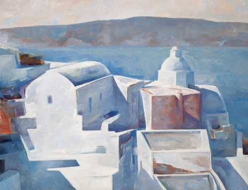 """Santorini-Visual Quest"" by Christoforos Asimis at Bellonio Cultural Center"